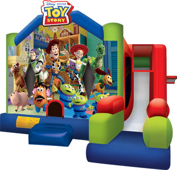 Inflatable Bounce House Combo Rental In Tulsa Ok