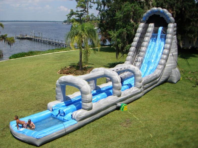 Inflatable Water Slide inflatable water slides & water combos